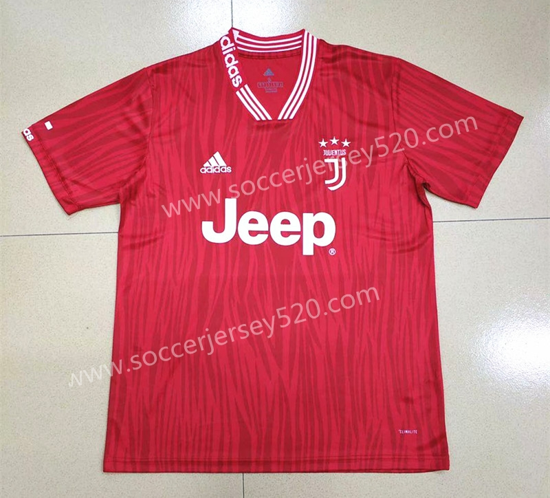 915aee3939b 2019-2020 Juventus FC Conceptual Version Red Thailand Soccer Jersey ...