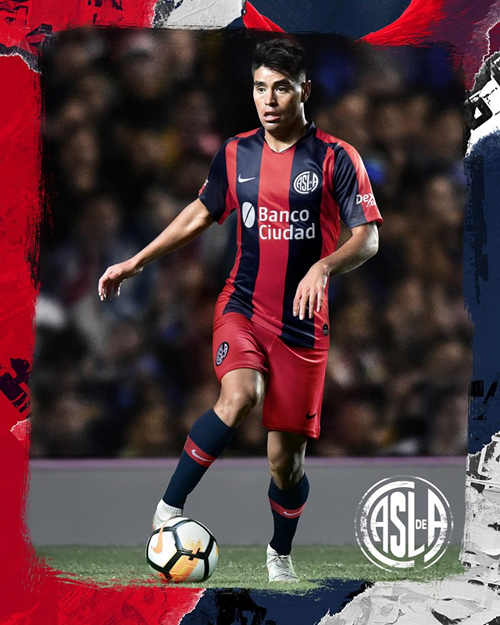 Nike released the home jersey of San Lorenzo 2019 season