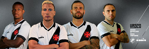 Vasco da Gama 2019 season away jersey released