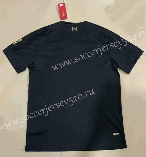 detailed look 0995e 0c275 2019-20 Liverpool Away Black Thailand Soccer Jersey AAA ...