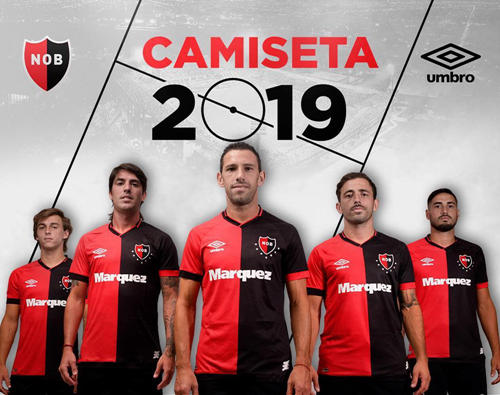Umbro released Newell's old boy 2019 season home jersey