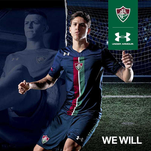 Under Armour launches Fluminense's new second away jersey