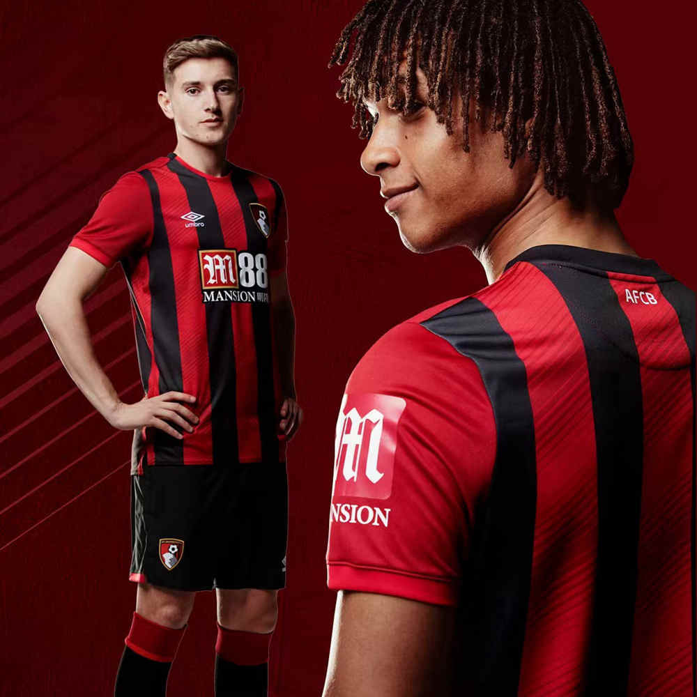 Umbro released the Bournemouth 2019/20 season home jersey