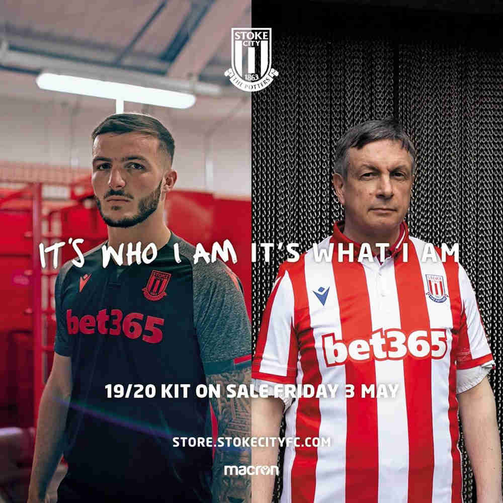 Stoke City 2019/20 season home and away jersey release