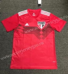 70th Anniversary Edition Sao Paulo Red Thailand Soccer Jersey AAA-407