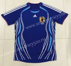 Retro Version 2006 Japan Home Blue Thailand Soccer Jersey AAA-SL