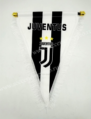 Juventus Black&White Triangle Team Flag