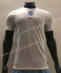Player Version 2020 European Cup England Home White Thailand Soccer Jersey AAA