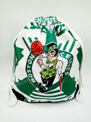 Boston Celtics Basketball Draw Pocket
