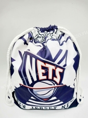 Brooklyn Nets Basketball Draw Pocket