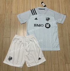 2020-2021 Montreal Impact Home Light Blue Soccer Uniform