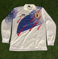 Retro Version 1994 Japan Away White Thailand Soccer Jersey AAA-510