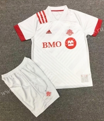 2020-2021 Toronto White Soccer Uniform-XY
