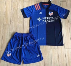 2020-2021 Cincinnati Blue Soccer Uniform-XY
