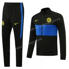 Player Version 2020-2021 Inter Milan Black Thailand Jacket Unifrom-LH