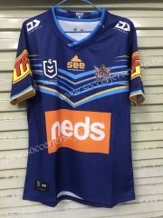 2020-2021 Titans Home Blue Rugby Shirt