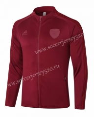 2020-2021 Arsenal Jujube Red Thailand Soccer Jacket-815