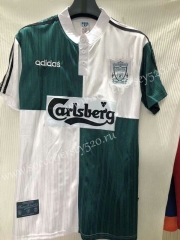 Retro Version 1995-1996 Liverpool White&GreenThailand Soccer Jersey AAA-905