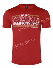 2020-2021 UEFA Champions League Liverpool Red T Shirt-GDP