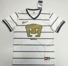 Retro Version 1997 Pumas UNAM Away White Thailand Soccer Jersey AAA-912