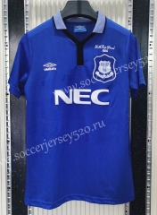 Retro Version 1994-1995 Everton Home Blue Thailand Soccer Jersey AAA-C1046