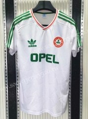 Retro Version Ireland Away White Thailand Soccer Jersey AAA-C1046