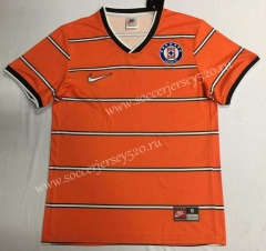 Retro Version 1997 Cruz Azul Orange Thailand Soccer Jersey AAA-912