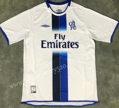 Retro Version 03-05 Chelsea Away White Thailand Soccer Jersey AAA-510