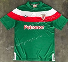 Retro Version 2011-2012 Athletic Bilbao Away Green Thailand Soccer Jersey AAA-510