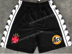 Retro Version 2000 Vasco da Gama Black Thailand Soccer Shorts-510