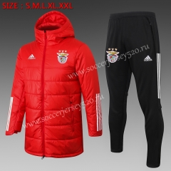 2020-2021 Benfica Red Cotton Coats Uniform With Hat-815