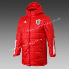 2020-2021 Benfica Red Cotton Coats With Hat-815
