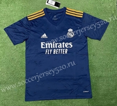 2021-2022 Real Madrid Away Royal Blue Thailand Soccer Jersey AAA