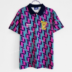 Retro Version 1990 Scotland Away Color Thailand Soccer Jersey AAA-C1046