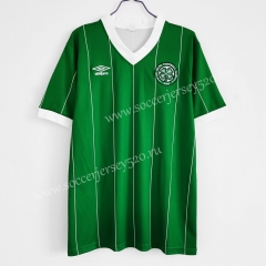 Retro Version 1984-1986 Celtic 2nd Away Green Thailand Soccer Jersey AAA-C1046