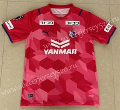 2021-2022 Cerezo Osaka Home Red&Pink Thailand Soccer Jersey AAA-417
