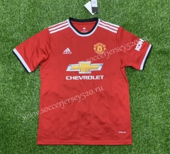 2021-2022 Manchester United Home Red Thailand Soccer Jersey AAA