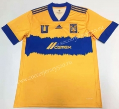 2021-2022 World Cup Tigres UANL Away Blue Thailand Soccer Jersey-912
