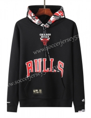 2020-2021 Chicago Bulls&Aape Black Thailand Soccer Tracksuit With Hat-LH
