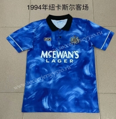 Retro Version 1994 Newcastle United Away Blue Thailand Soccer Jersey AAA-XY