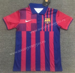 2021-2022 Barcelona Red&Blue Thailand Polo Shirt-803