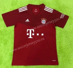 Correct Version 2021-2022 Bayern München Home Red Thailand Soccer Jersey AAA-C2128