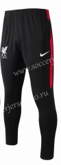 2020-2021 Liverpool Red Half White Thailand Soccer Jacket Long Pants-815