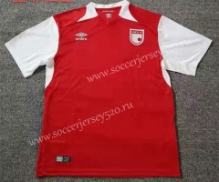2021-2022 Independiente Santa Fe Red Thailand Soccer Jersey AAA-709