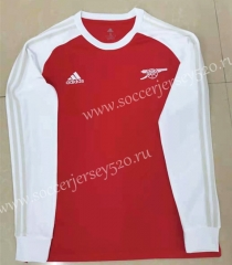 Retro Version Arsenal Red Thailand LS Soccer Jersey AAA-818