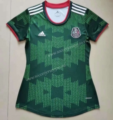 2021-2022 Mexico Green Female Thailand Soccer Jersey AAA