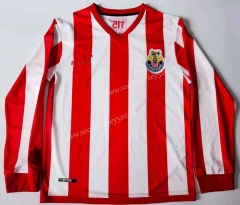 112th Anniversary Commemorative Edition Deportivo Guadalajara Red&White Thailand LS Soccer Jersey AAA-912