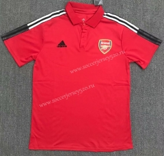 2021-2022 Arsenal Red Thailand Polo Shirt-803