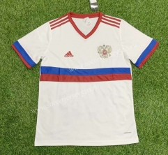 2021-2022 Russia Away White Thailand Soccer Jersey AAA-407