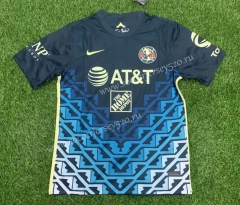 2021-2022 Club America Away Blue Thailand Soccer Jersey AAA-407